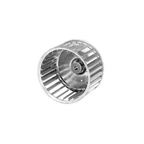 Galvanized Steel Blower Wheel (3-13/16inch Diameter x 2-1/2inch Width, 5/16inch Bore)