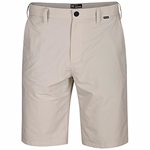 (Hurley Men's Dri-FIT Chino Walkshorts 21