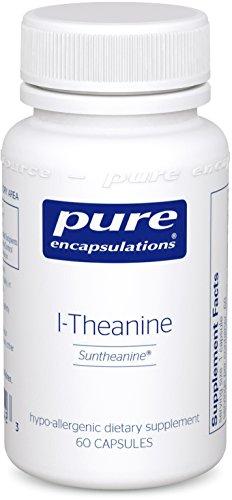 Pure Encapsulations l Theanine Hypoallergenic Supplement