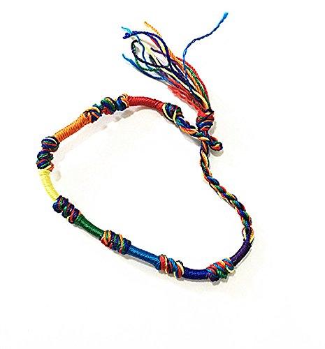 MINILUJIA Dreamcatcher Watch Dream Catcher Handmade Rope Bracelet Women Wrist Watch with Free Colorful Rope Bracelet