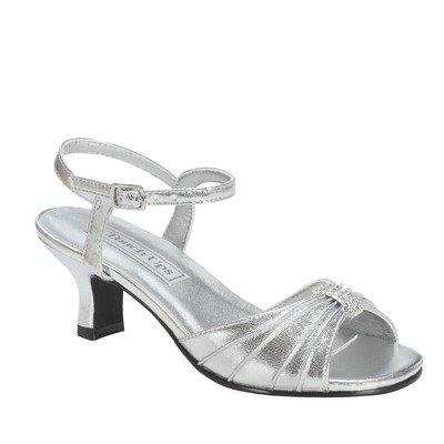 Touch Ups Girl's Kids' Talia Sandal Pre/Grade School Silver Metallic 3 M