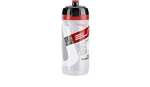 gd caps Elite Corsa - Botella Biodegradable con Logo Rojo ...