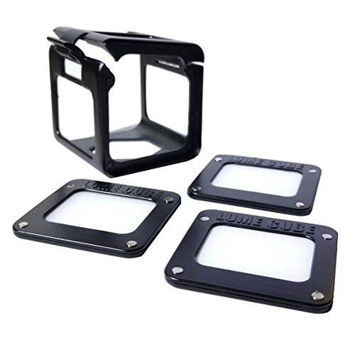 Lume Cube - Light-House Light Diffusion/Modifying Kit (Includes Filter Holder + 3-pack of Lee Filters Zircon White - Lume