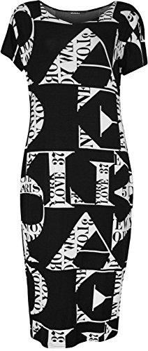Funky Fashion Shop - Falda - para mujer Love Print