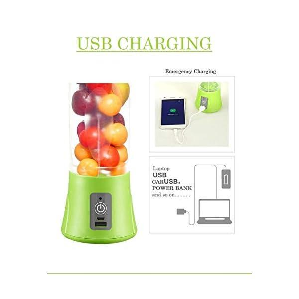 Qualimate Portable Electric USB Juice Maker