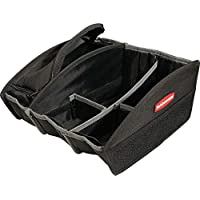 Rubbermaid Automotive Portable Tote Bag Organizer (Black)