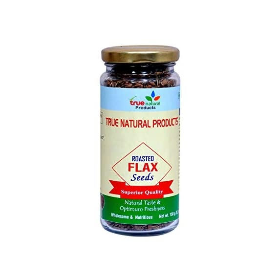 True Natural Products Roasted Flax Seeds, 150 Gram