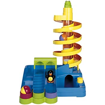 Amazon Com Kidoozie Super Spiral Play Tower Toys Amp Games