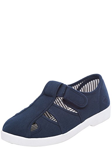 Chums Dr. Dodd Herren Weit Fit Canvas Sandale Marine