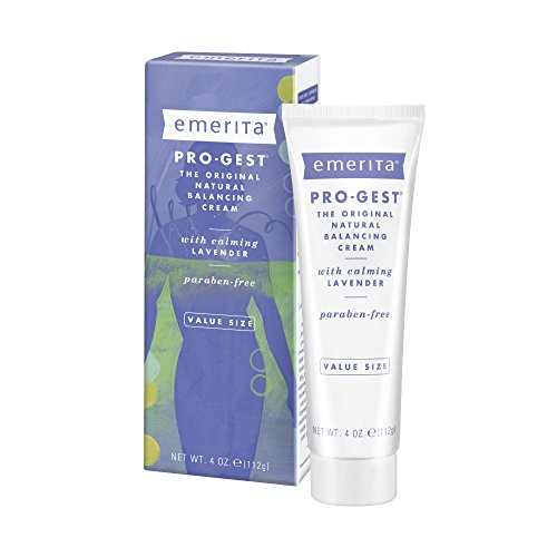 Emerita Pro-gest Natural Balancing Cream with Lavender, 4 -