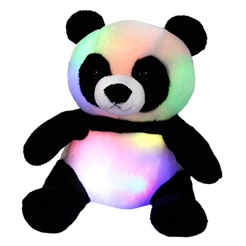WEWILL LED Panda Stuffed Animal Glow Soft Plush