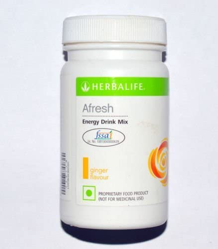 Herbalife Afresh Energy Drink Ginger Flavor