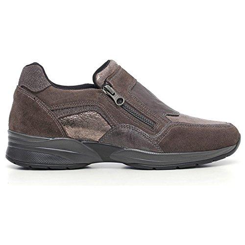 Sneaker Donna in Pelle Marrone A616032D-103 - Nero Giardini