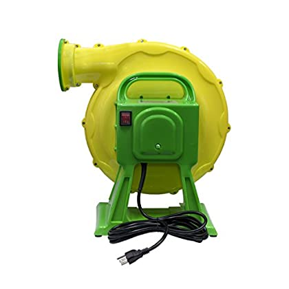 Image of Inflation Devices & Accessories ALEKO BHPUMP1500W Bounce House UL Approved Air Blower Pump Fan for Indoor Outdoor Inflatable Bouncy House 1500 Watts