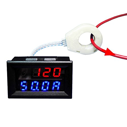 AILI Battery Voltage Tester Monitor 120V 100A Voltage Current Remaining Capacity With Current ()