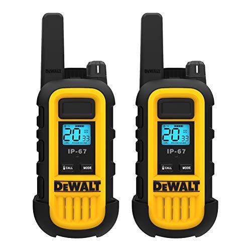 DeWALT DXFRS300 1W Walkie Talkies Heavy Duty Business Two-Way Radios (Pair) by DEWALT (Image #1)