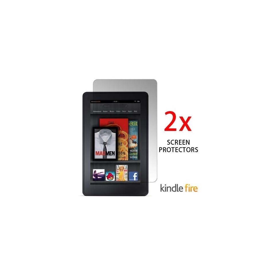 KOZMICC 2x  Kindle FIRE Anti Glare & Anti Fingerprint Screen Protectors
