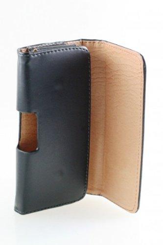 téléphone de poche de sac de couverture de chiquaude de rtabilisation iPhone de butoir de caisse 5 étui de ceinture de chiquaude pour smartphone