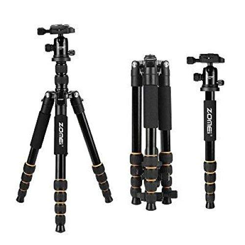 ZOMEI Aluminum Portable Tripod with Ball Head Heavy Duty Lightweight Professional Compact Travel for Nikon Canon Sony All DSLR and Digital Camera by YESSBON