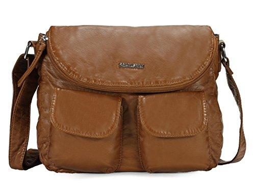 Scarleton Multi Pocket Crossbody Bag H1932