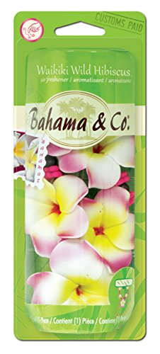 Bahama & Co. E300859800 Scented Necklace, Waikiki Wild Hibiscus (Hanging Flower Necklace)
