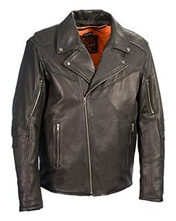 Milwaukee Leather Men's Vented Updated Motorcycle Jacket (Black, Medium) (B01CSIKOXY) | Amazon Products