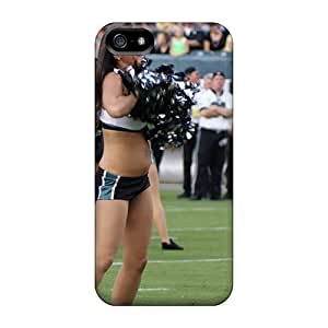 Series Skin Case Cover For Iphone 5/5s(new York Jets Cheerleader Uniform)