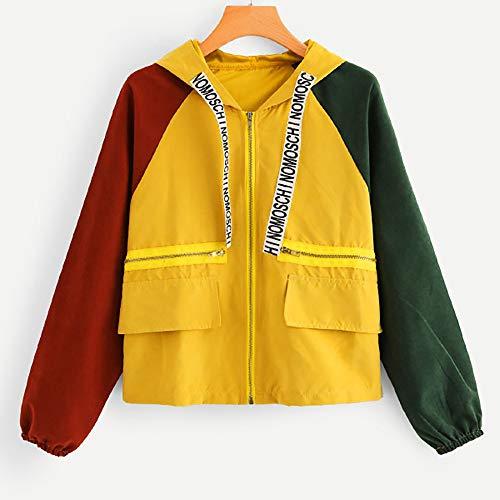 Lunga Coste Donne Felpa Manica Patchwork Maglione A Vicgrey Oversize Velluto Cappuccio Arancione Cappotto Donna cappotto Elegante Con Jacket Giacca PdqXx0R
