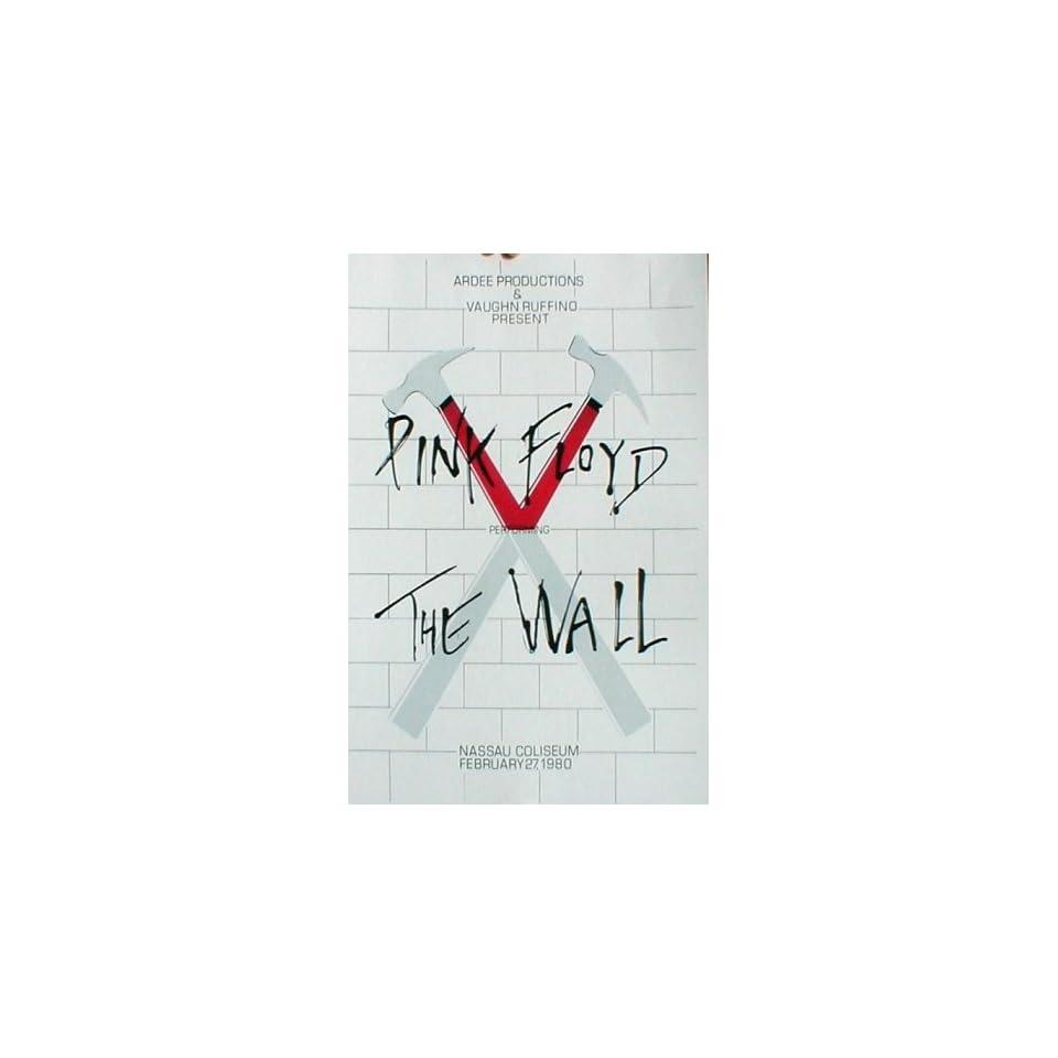 Pink Floyd (The Wall, Nassau Coliseum) Music Poster Print   11 X 17