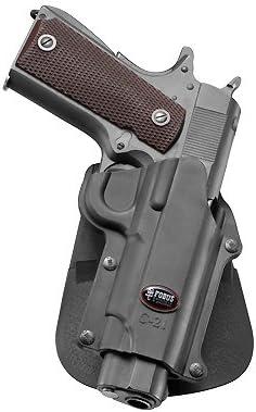 Fobus Ocultar Concealed Carry Gobierno de mano izquierda 5cm cinturón para Colt 45& All 1911Style/FN 49/Kimber 4& 5pulgadas de alta potencia/FN/sasilmaz Klinic 2000Light/Browning Hi-Powe