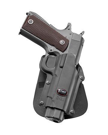 Fobus C-21 Right Hand Gun Holster For Browning Hi-power Mark III 4, 5mm / Browning GPDA 9 / Colt 45 Government & All 1911 style / FN High power / - Shop C21