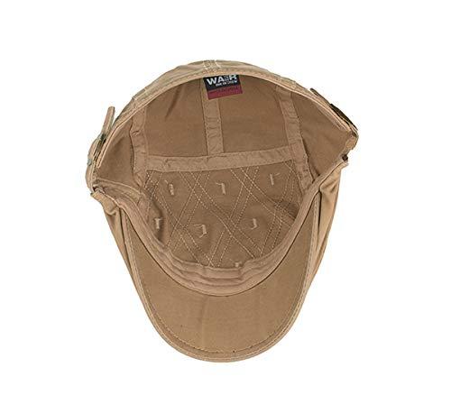 de Hombres qin Pato Sombrero para Diamantes Hombres GLLH de Bailey D Sombreros Vendedor periódicos de Sombrero hat de C Sombrero Sombrero de para Informal d7zwIZq