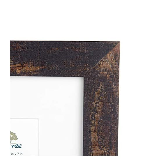 Scholartree Wooden Brown 5x7 Picture Frame 3 Set in 1 Pack or 5x7 Frame or 11x14 Photo Frame - ELEGANT DESIGN: 5x7 Picture Frame made to display 5x7 inches pictures without Mat or 4x6 inches photos with Mat. The picture frame is designed with hooks and brackets that can be displayed on the table and wall. HIGHEST QUALITY: 5x7 frames are made of MDF(a kind of hard wood) and real inorganic glass. It make the frame strong and the real glass has high transparency. The frame includes built-in metal tabs for easy access to display your photos, cards and memories. ATTRACTIVE LOOK: White coloured mat keeps photos and artwork looking great for years. Turn your portraits, artful prints and everyday shots into a spectacular display. The actual mat opening is designed to hold a 4x6 inch photo in place. We recommend taping the photo to the back of the mat. - picture-frames, bedroom-decor, bedroom - 41PWT7v12iL. SS570  -