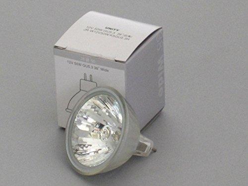ユニティ ハロゲン電球 JR12V50W 径50mm GU5.3 広角 ダイクロハロゲン12V用 JR-W12V50W/K5-GU5.3H 1箱(10個入) B07BF8W5XJ