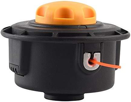 FEPITO - Cabezal desbrozadora Universal M10 x 1.25 Hilo Carga fácil