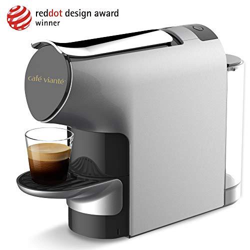 Café Vianté ENZO Espresso Machine Compatible with Nespresso Originaline Capsules | 19 Bars of Pressure | Ultra Low Noise…