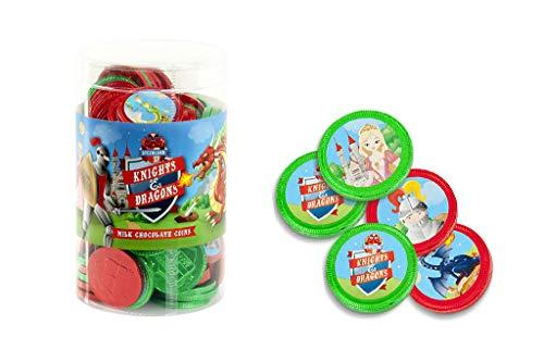 Monedas de Chocolate con leche (Christmas)