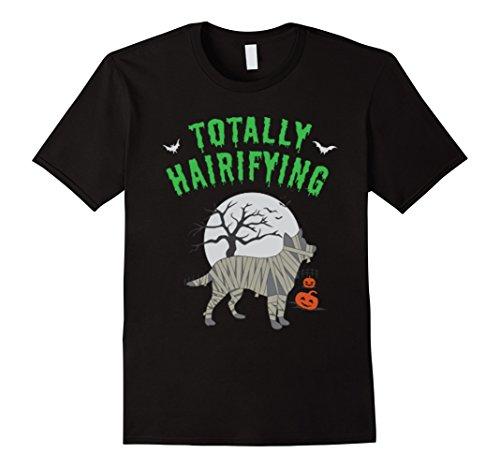 Mens Australian Cattle Dog Hairifying Halloween Costume shirt Medium (Australian Costume For Men)