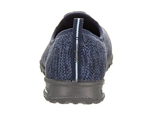 Skechers relaj� el aire f�cil apto en mi resbal�n para mujer de los sue�os en zapatillas de deporte