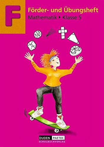 Förderhefte Mathematik: 5. Schuljahr - Übungsheft