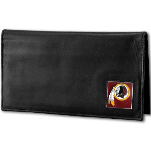 NFL Washington Redskins Deluxe Leather Checkbook Cover