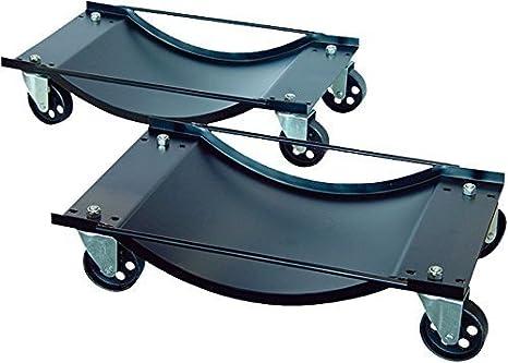 Carritos para garaje con ruedas, Dirty Pro ToolsTM 2 unidades, 450 kg de carga: Amazon.es: Coche y moto