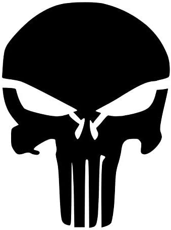 8x10 5x7 Pack of 3 Punisher Skull Stencils Made from 4 Ply Mat Board 11x14