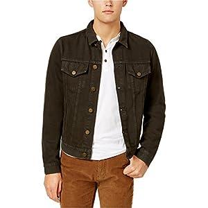 Tommy Hilfiger Men's Garment Dyed Denim Jacket