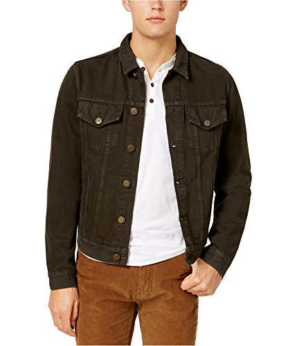 Buy jean jacket brown xl