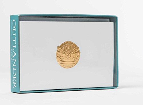 Outlander Crest: Foil Note Cards (Set of 10) Crest Stationery