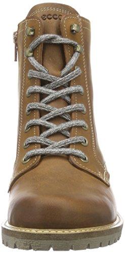Ecco ECCO ELAINE - botas de combate de cuero mujer Marrón (AMBER2112)