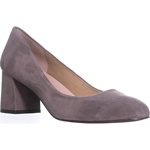 Trance Suede Round French Womens Taupe Classic Toe Pumps Sole Suede E1q6WzFq