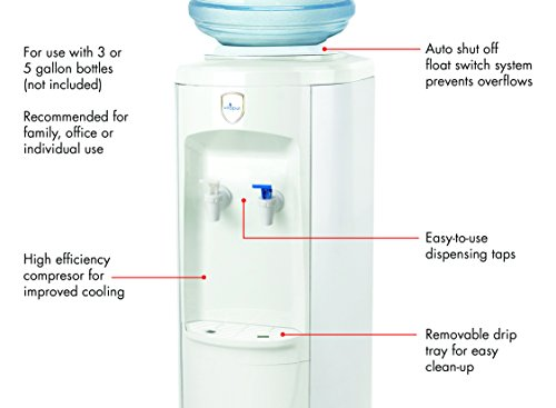 Vitapur Top Load Floor Standing Room Cold Water Dispenser