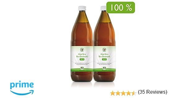 Jugo 100% orgánico de Aloe Vera | Fileteado a mano | Rico en ...